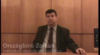 A political moderate in Hungary – Mr. Zoltán Országbíró