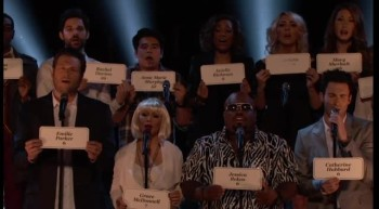 Celebrities Come Together to Sing Emotional Tribute to Newtown Shooting Victims