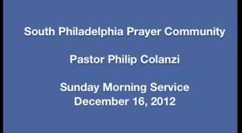 SPPC Sunday Morning Service - 12/16/12