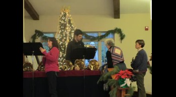 BrassTown Ringers at First Christian Church, Candler, NC