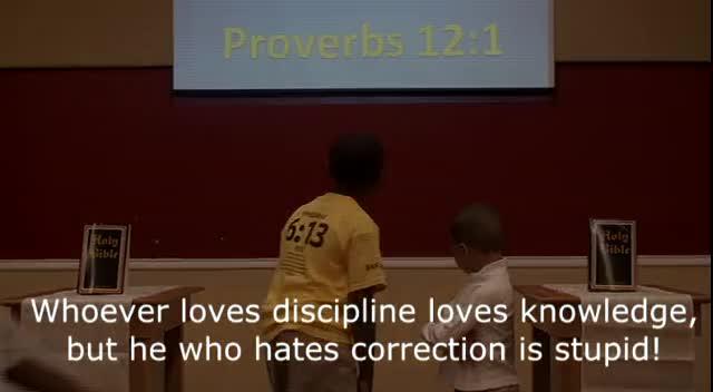 Proverbs 12:1 Scriptue Song