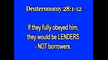 Investing-God discourages debt