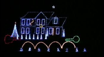 A Christmas Light's Show Like You Have Never Seen Before
