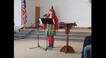 """Spoken Word Poetry - """"A Way for a Manger"""""""