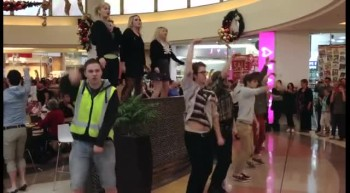A Fun New Christmas Mall Flash Mob