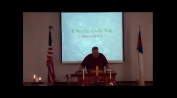 Blackwater UMC Sunday Sermon, December 23, 2012