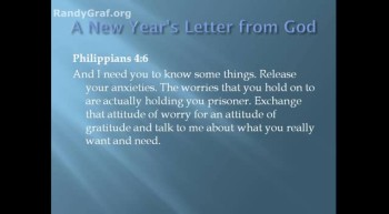 God's New Years Love Letter to His Children - Blessed Beyond All Reason - Pastor Randy Graf