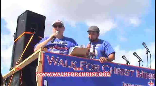Walk For Christ Hollywood, Fl 2012