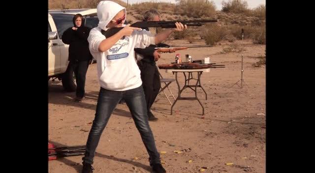 Desert Shooting