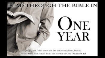One Year in the bible