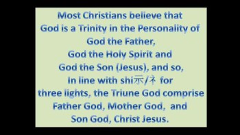 Holy Spirit Feminine ?