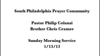SPPC Sunday Morning Service - 1/13/13