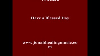 Jonah-Blessed Day