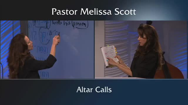 Pastor Melissa Scott - The Altar Call