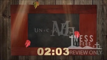 Red Fall Frame Church Countdown Video - Oneness Videos