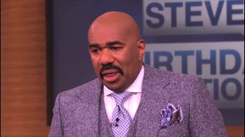 A Surprise From The Past Leaves Steve Harvey in Tears