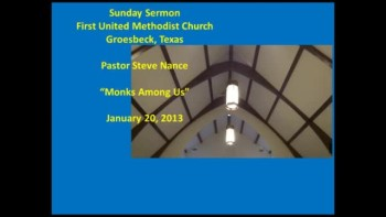 FUMC Sermon - 01202013