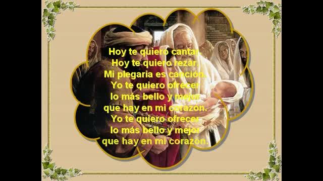HOY TE QUIERO CANTAR (GABARÁIN) | ALIANZA DE AMOR