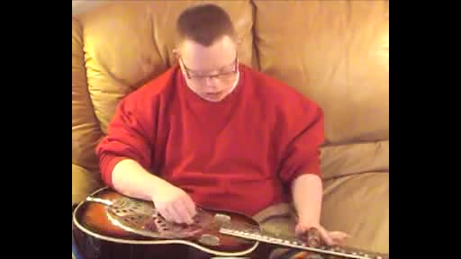 Slide Guitar Winter Wonderland