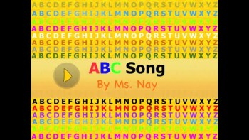 """""""ABC Song"""" By Ms. Nay - Image Video"""