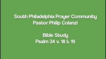 SPPC Bible Study - Psalm 34 v. 18  19