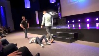 Pastor has painful damaged neck healed
