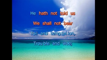 God Hath Not Promised