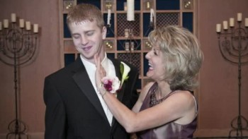 A Very Special First Dance for Mother and Groom Who Survived Cancer