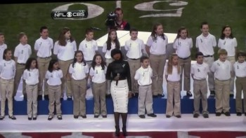 Jennifer Hudson and Sandy Hook Suvivors Sing Moving Performance of America the Beautiful