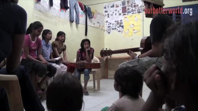 At-risk girls sing out loud