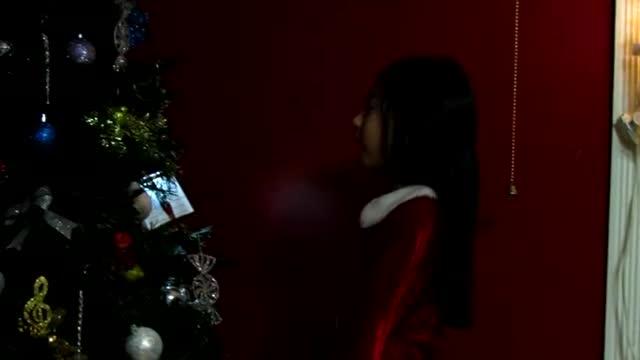 Clarisse ( 7 yr old ) singing Happy Birthday Jesus