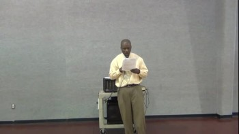 Spiritual Growth Bible Class - Lesson 1 - January 13, 2013