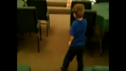 Billy II dancing to Chris Tomlin