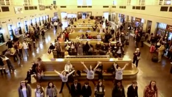 A Cancer Survivor Flash Mob!