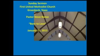 FUMC Sermon - 01/27/2013