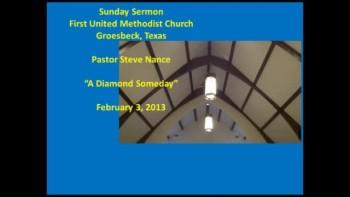 FUMC Sermon - 02032013