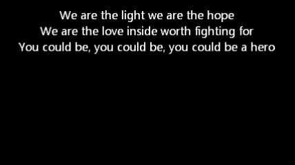 Kutless -Hero  lyrics