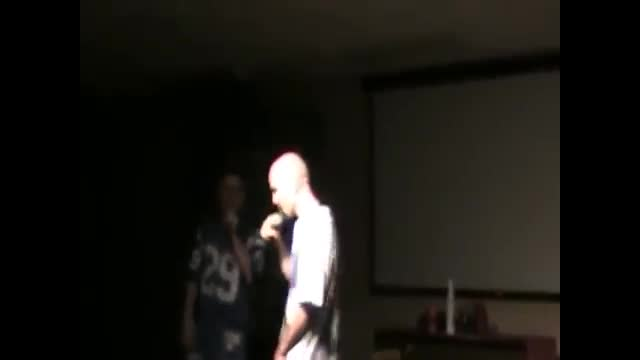 Blinky D and Lil' G Show footage pt.1