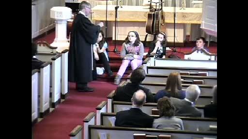 Children's Sermon February 10, 2013