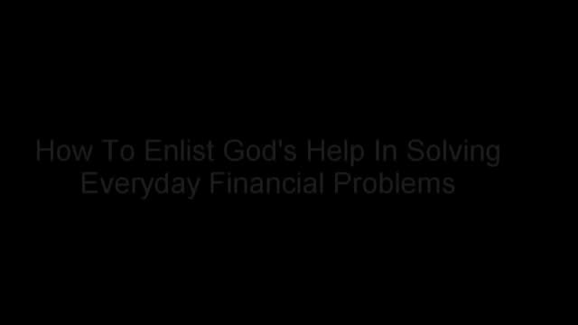 How To Pray For A Financial Miracle - James L. Paris