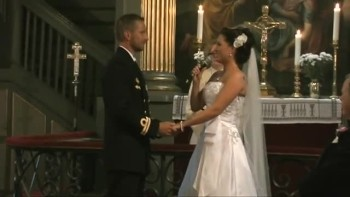 Beautiful Bride Sings From This Moment to Her Groom