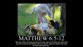 Animal Themed Motivational Posters of Bible Scripture 2