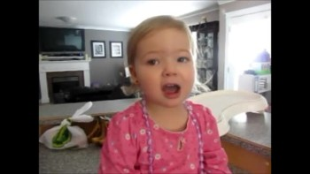 Sweet Toddler Sings Her Heart Out to Adele