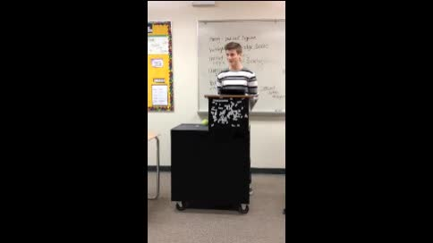 Hunter Haas Speech #1