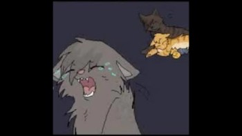Ashfur and Squirrelflight (Warrior cats)