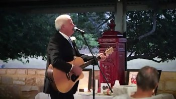 Father of the Bride Sings to Her on Her Wedding Day