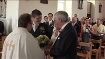 A Groom Sings a Beautiful Song as His Bride Comes Down the Aisle