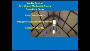 FUMC Sermon 02/24/2013