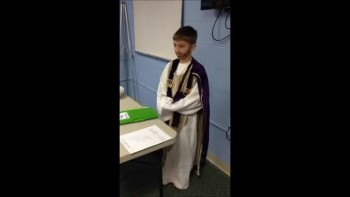 Trey's portrayal of Jesus reciting The Beatitudes!