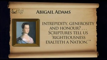 Abigail Adams, Religion & Patriotism – Faith in History